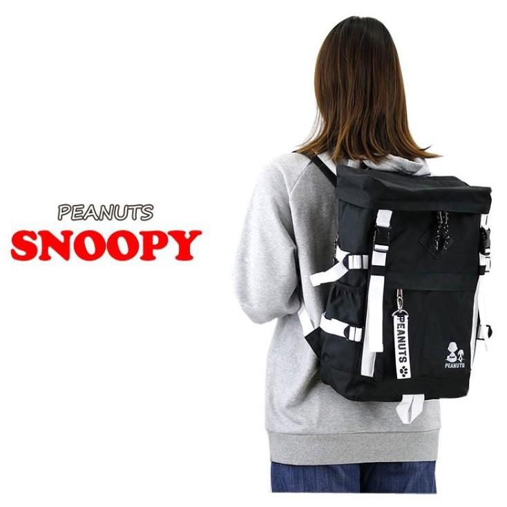 鼎飛臻坊 PEANUTS SNOOPY 查理 史努比 大容量 刺繡 後背包 背包 日本正版