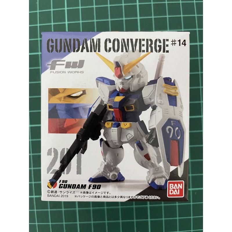 FW GUNDAM CONVERGE#14單賣 201 鋼彈F90 全新未拆