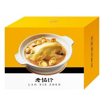 [#巧] Costco好市多代購-老協珍 冷凍經典鮑魚雞湯 2490公克