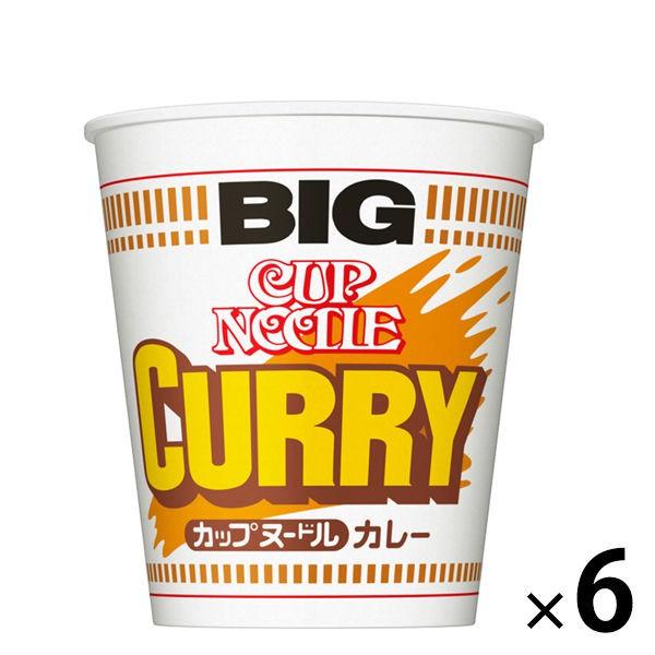 日清NISSIN 經典咖哩拉麵BIG 6入裝 J665020