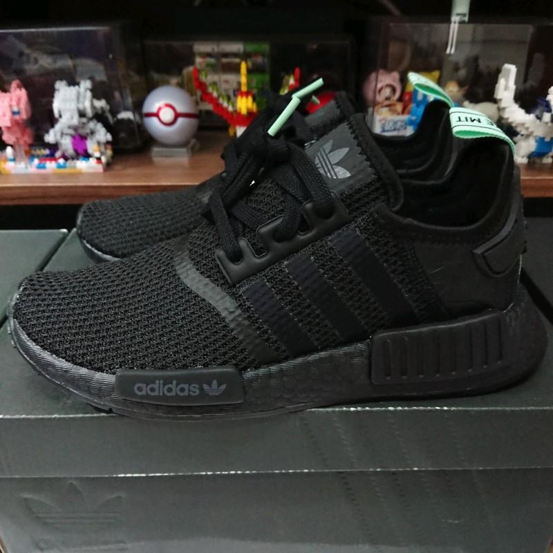 【小八】adidas NMD R1 W black Mint 黑綠 AQ1102