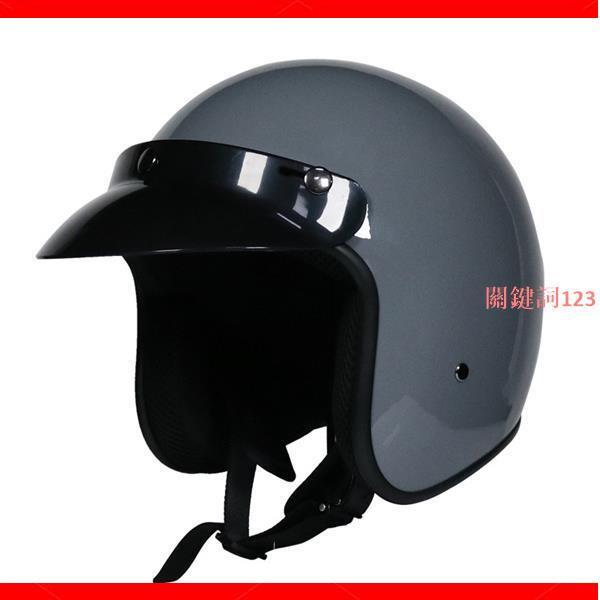 【暢銷款】VOSS復古哈雷安全帽 半盔男女哈雷夏季 機車安全帽四季 3/4盔半覆式