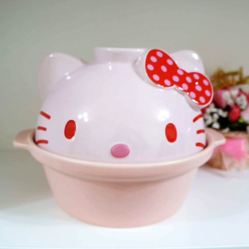 Hello kitty造型土鍋/砂鍋