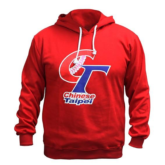 棒球帝國- 中華隊LOGO棒球帽T CT-CW-302/02 紅色