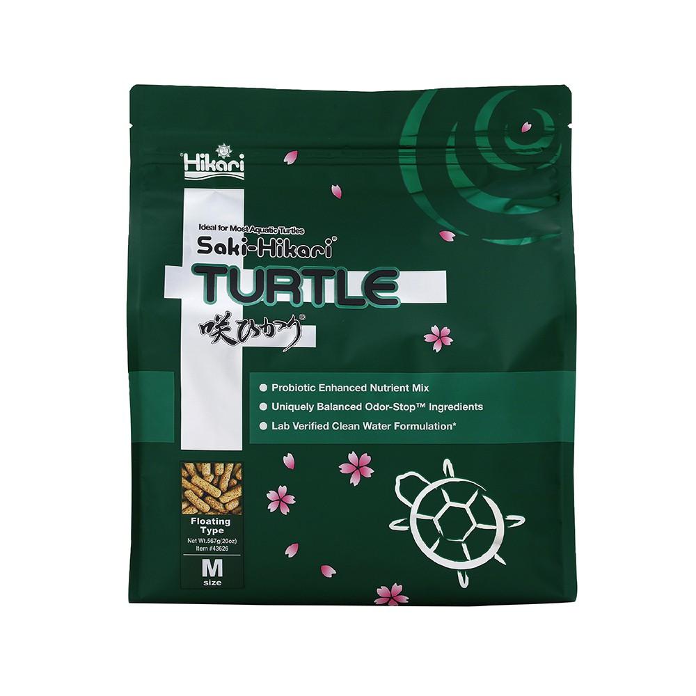 Hikari 高夠力 Saki-Hikari 善玉菌烏龜飼料 M顆粒 567g 促進消化 水質除臭 澤龜 水龜