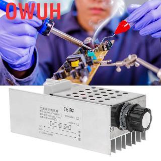 Owuh 10000W超大功率SCR電壓調節器調速器調光器恆溫器AC 110V 220V