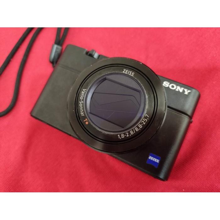 聯翔通訊 黑色 Sony DSC-RX100M3 台灣原廠已過保固 二手相機 原廠盒裝 ※換機優先