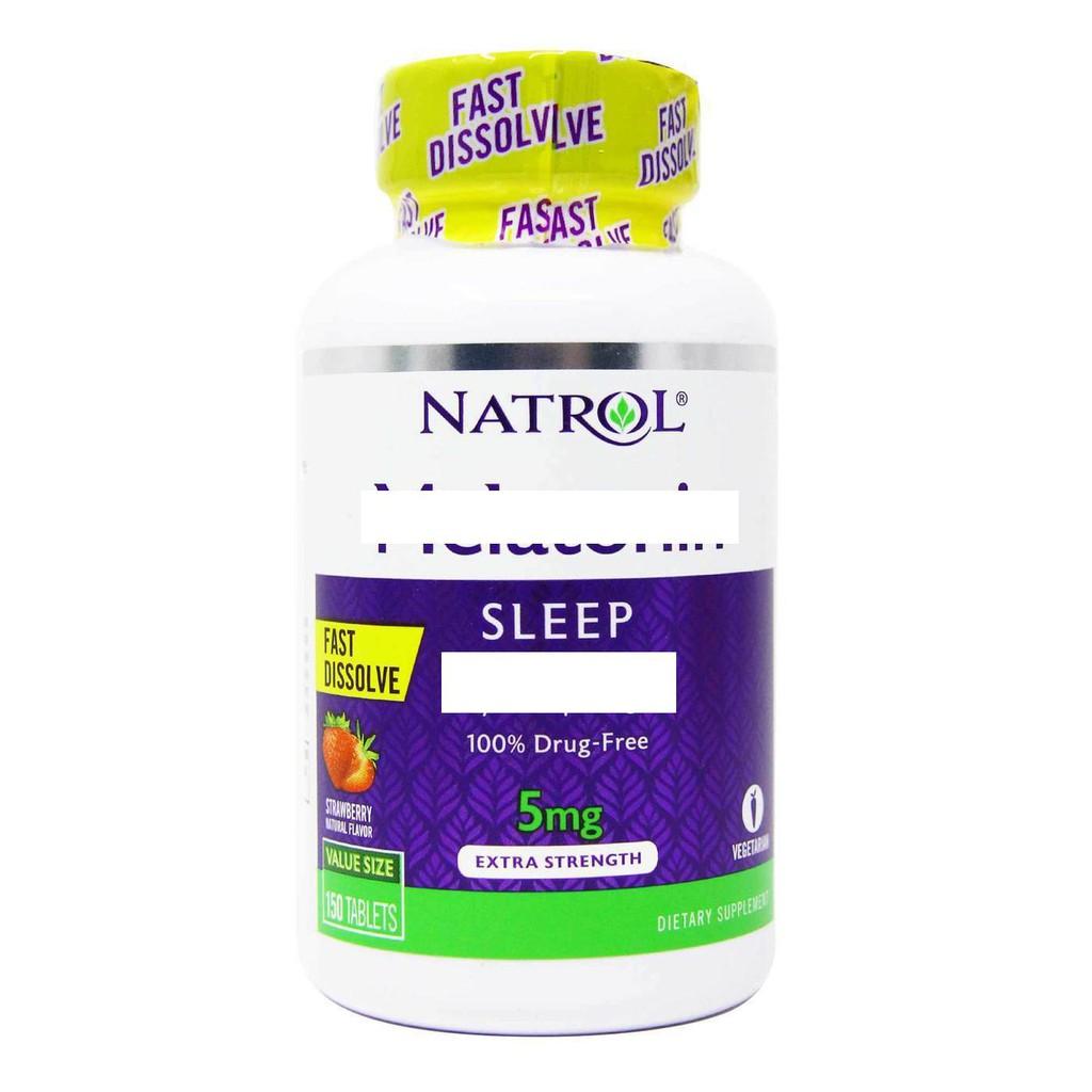 少量現貨~美國原裝 Natrol 5mg 150錠 調時差~幫助入睡~