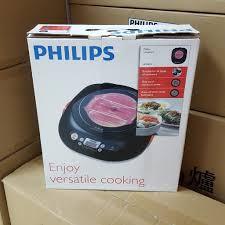 【Philips 飛利浦】不挑鍋黑晶爐HD4943