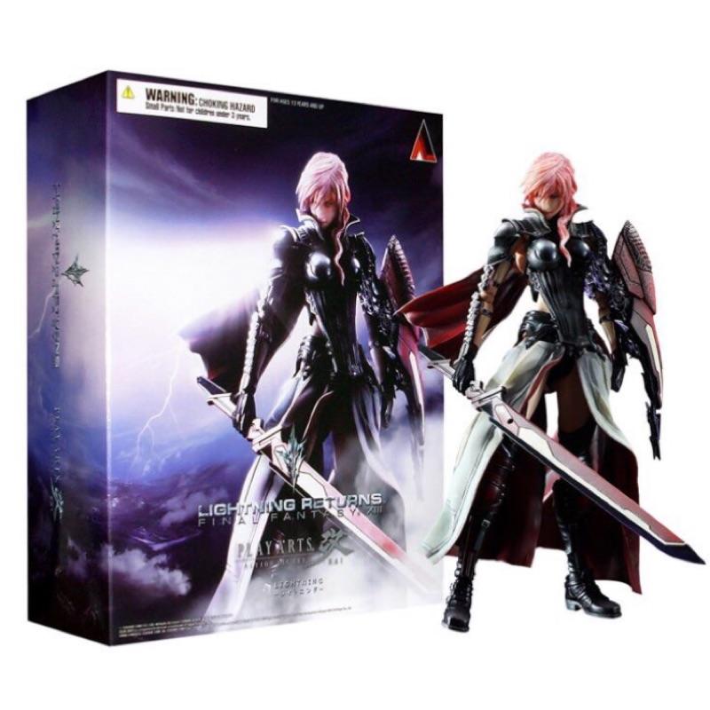 日空版 Play Arts改 太空戰士13 雷光 Lighting FF13 Final Fantasy 13 預購制
