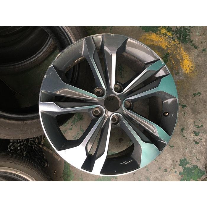 可單賣 日產 納智捷 Luxgen原廠 5孔114.3 17吋鋁圈 S5 U5 U6 M7