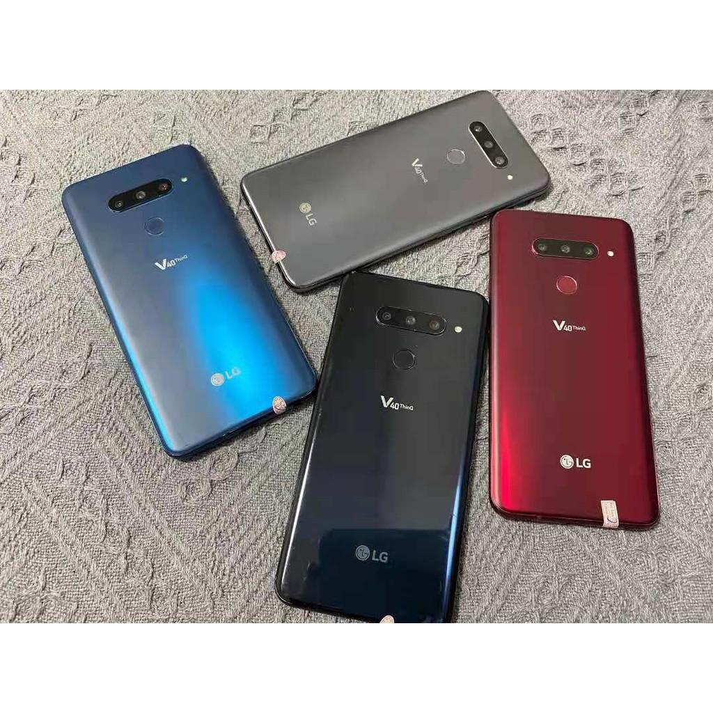 二手LG V40美版 全網通4g手機 4+64G 高通驍龍845處理器