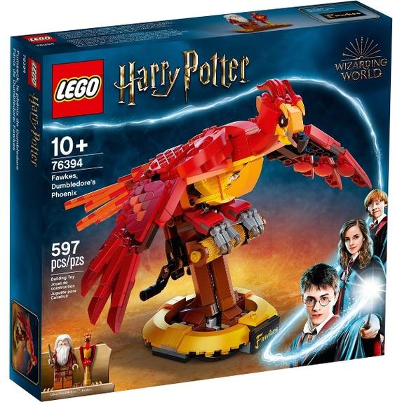 【麥斯與亞當】 LEGO 76394 Fawkes, Dumbledore's Phoenix
