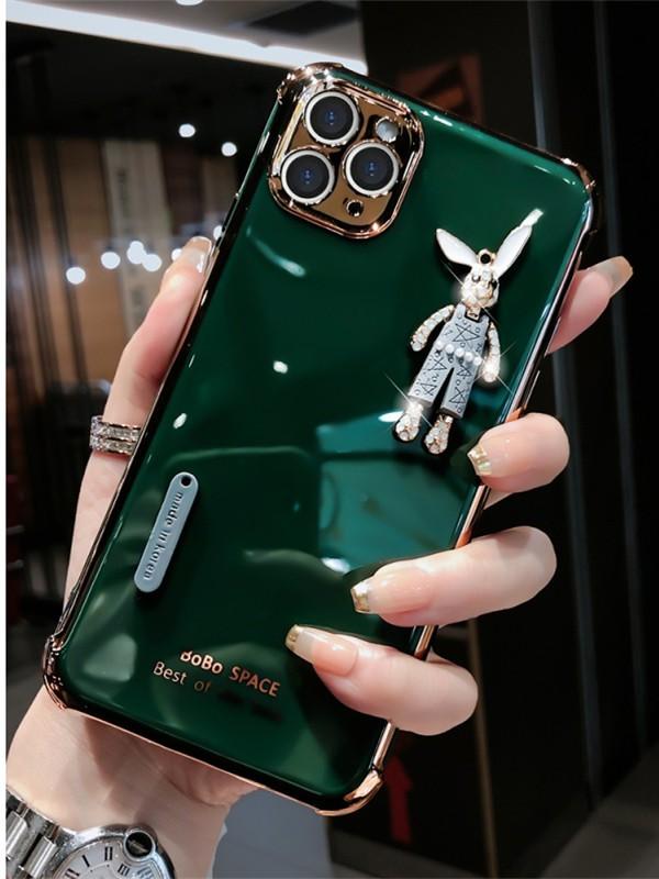 適用蘋果12手機殼iphone12pro max超萌12mini硅膠全包防摔網紅款F