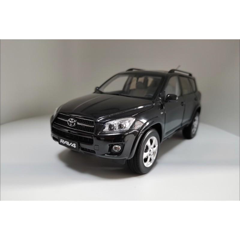 BuyCar模型車庫 1:18 Toyota RAV4 黑色模型車