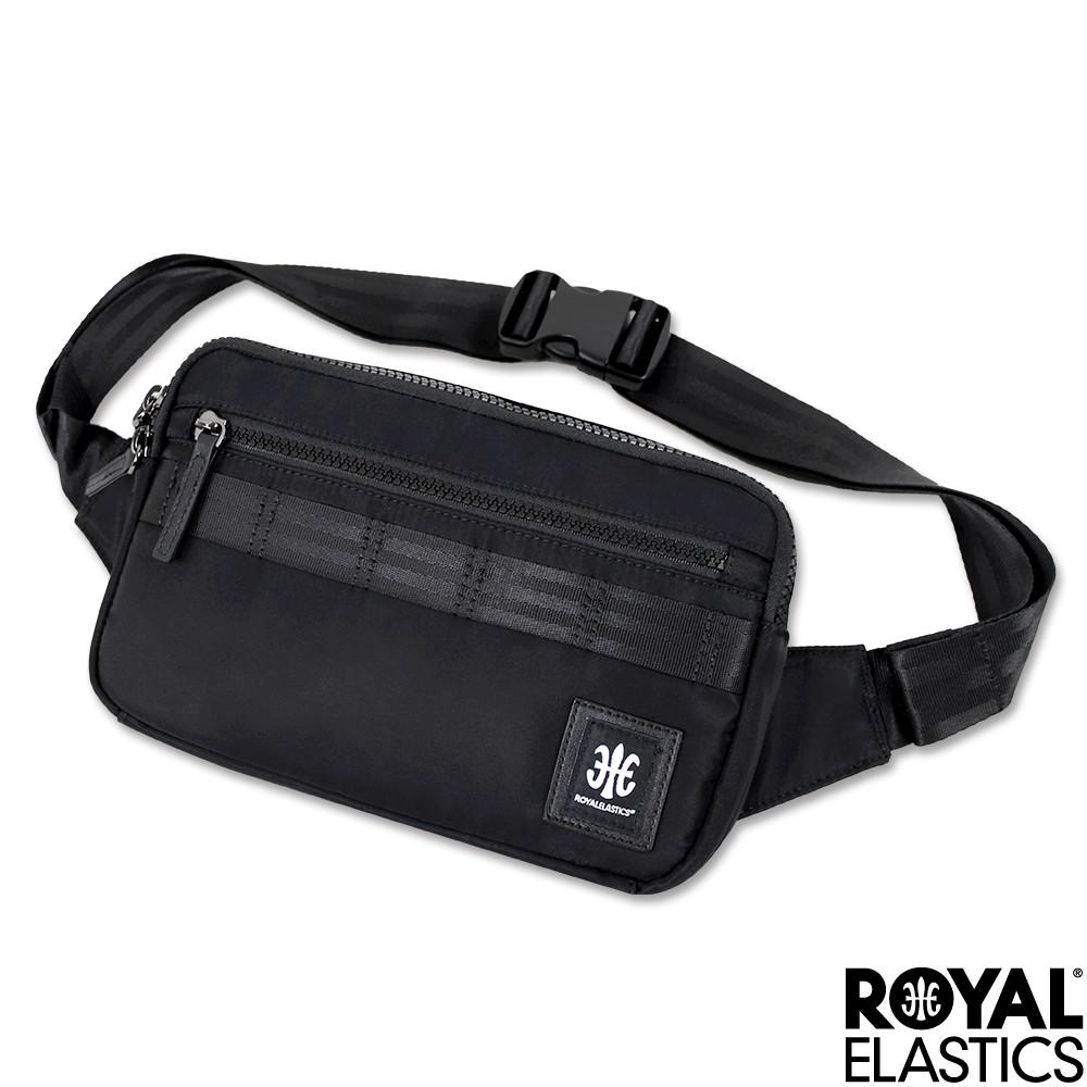 【RoyalElastics】經典運動小型腰包 胸包 Knight闇黑騎士系列