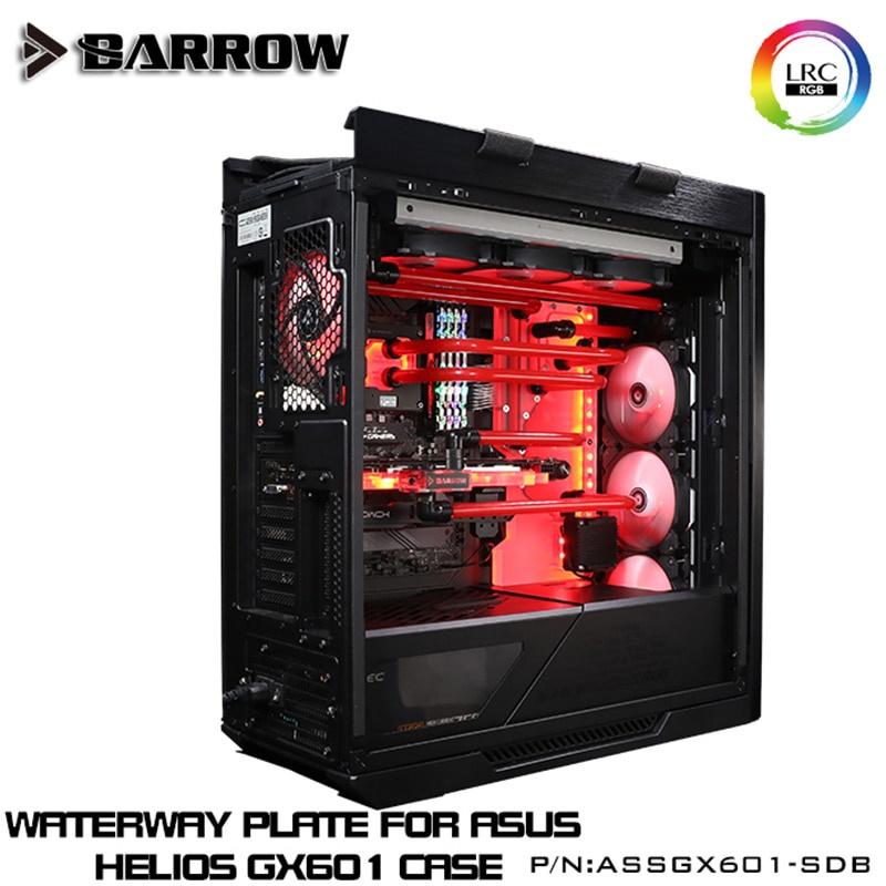 華碩 Rog Strix Helios GX601 水冷環建築 ASSGX601-SDB V2 的 Barrow Wat