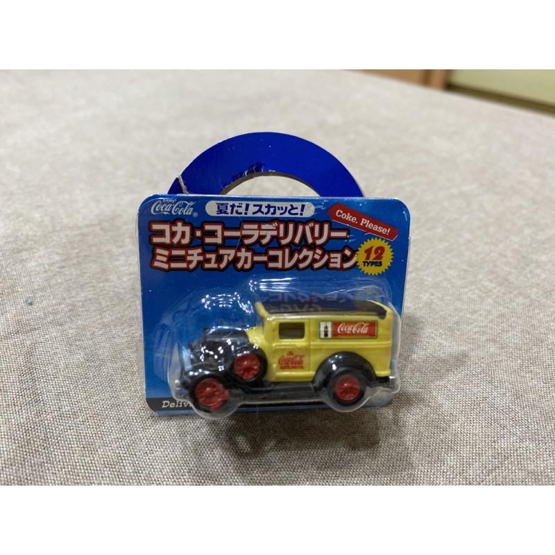 未拆)可口可樂 復古 老爺車 模型車 玩具車 贈品 非賣品 限量 非多美
