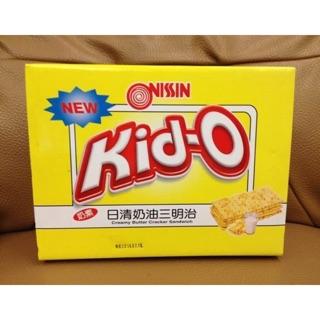 Kid-O日清奶油三明治餅乾一盒68包入  345元--可便利商店取件付款 新北市