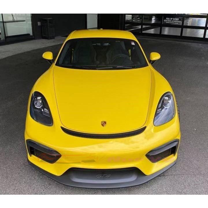 諾亞 保時捷 Porsche 718 改装 1:1 GT4 前保桿 後下巴 尾翼 大包圍
