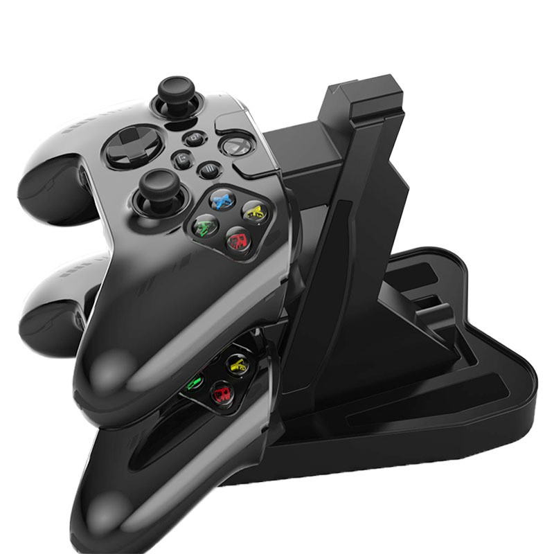 XBOX Series X手柄飛機充 XBOX XS手柄支架飛機架雙座充 XBOX配件