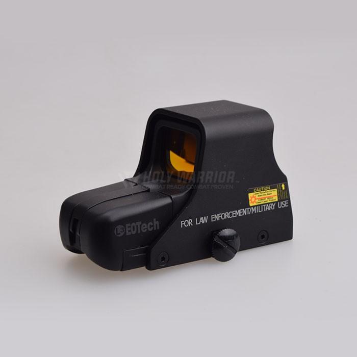 【悍武】悍武水彈配件虹膜551全息紅點瞄準鏡光瞄十字鏡打獵高透55系列