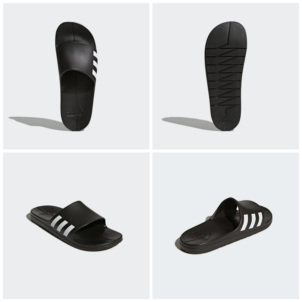 Adidas 全新 Aqualette 黑色 拖鞋 運動拖鞋 戶外拖鞋 室外拖鞋 泳池拖鞋 CG3540