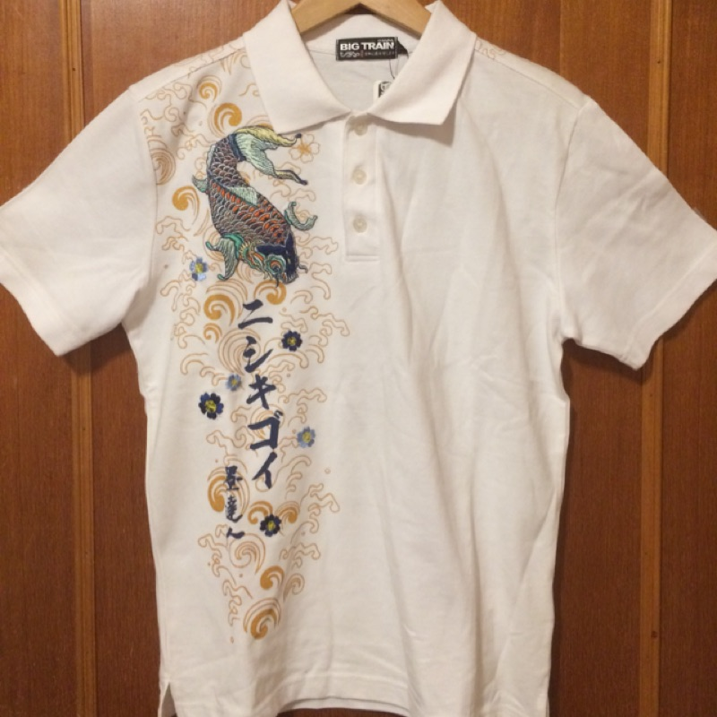 Big Train 墨達人 鯉魚波紋 Polo衫(買滿6900元可當贈品)