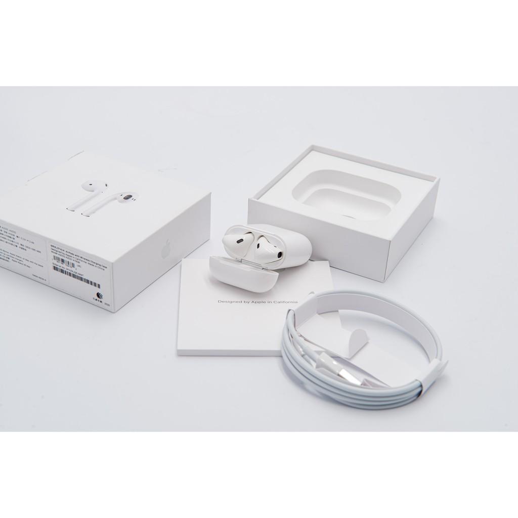 福利品 APPLE AIRPODS 2代 無線充電版 A2031 A2032 A1938 無線藍芽耳機 保內