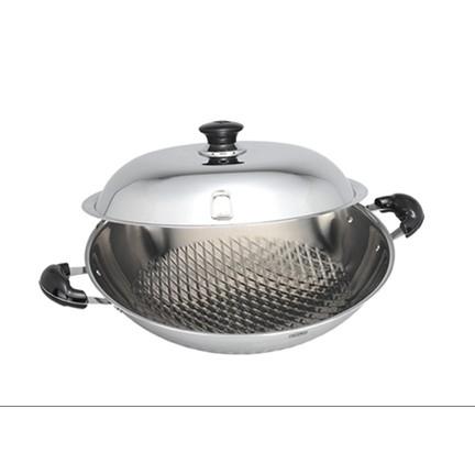 膳魔師WON-40-S享瘦鍋 雙耳享瘦鍋40cm