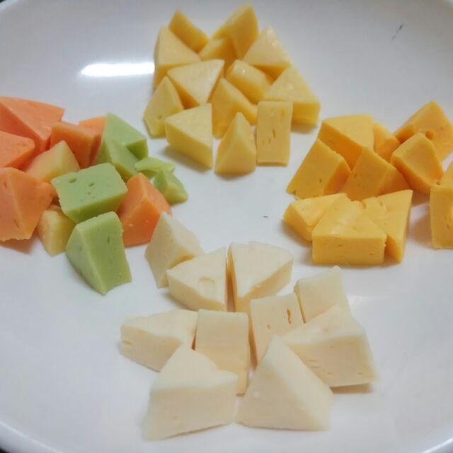 日本 角切起司 四種口味 倉鼠零食 寵物鼠主食 倉鼠 老鼠 三線鼠 楓葉鼠 黃金鼠 倉鼠飼料