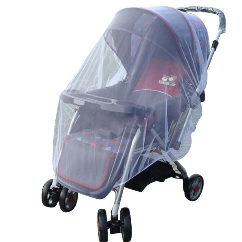 嬰兒童車嬰兒推車蚊子昆蟲網網蟲車蓋【IU貝嬰屋】