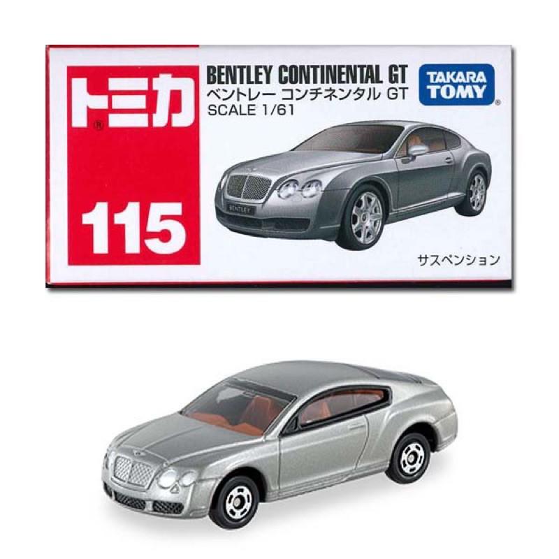 (全新❗️當日出貨)多美 TOMICA BENTLEY CONTIENTAL GT 賓利 No.115 絕版品 小車