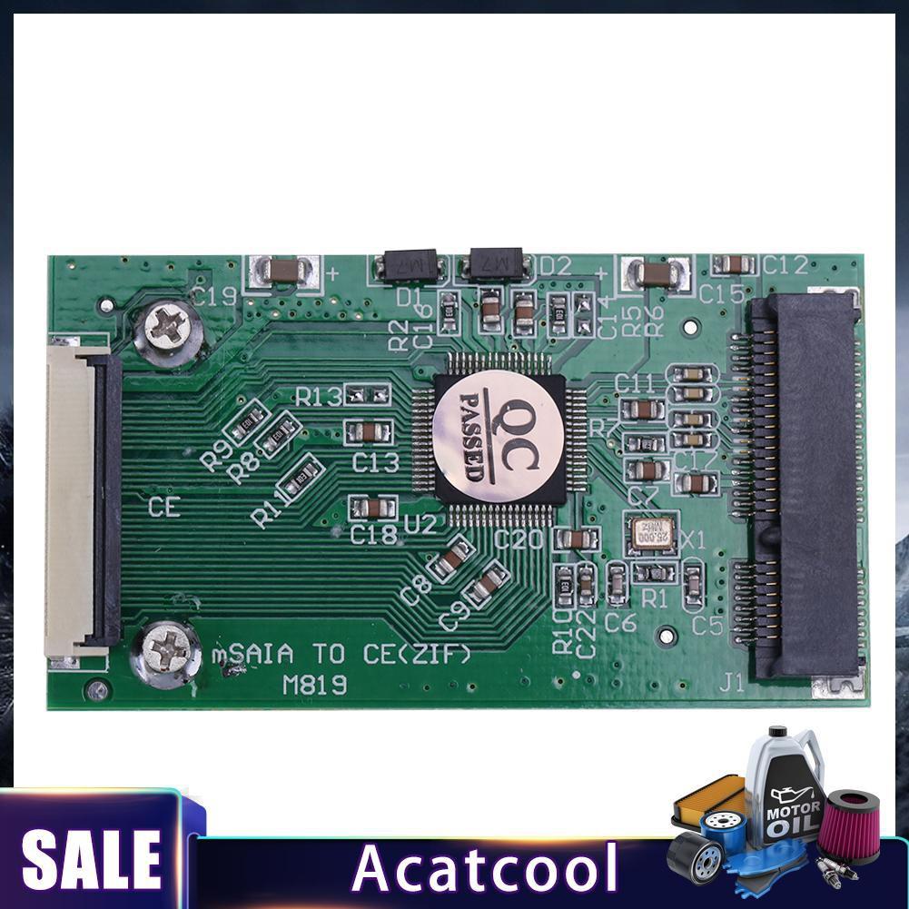 Acatcool✔ 1.8寸msata轉CE|ZIF接口轉卡|1.8吋SSD硬盤轉CE msata轉ZIF