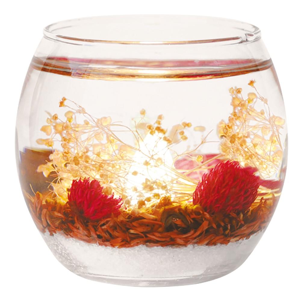 【限時下殺】日本 Luminous Flower 香氛凝膠夜光花園-梔子花【免運】(擴香燈|擴香瓶|香氛凍)