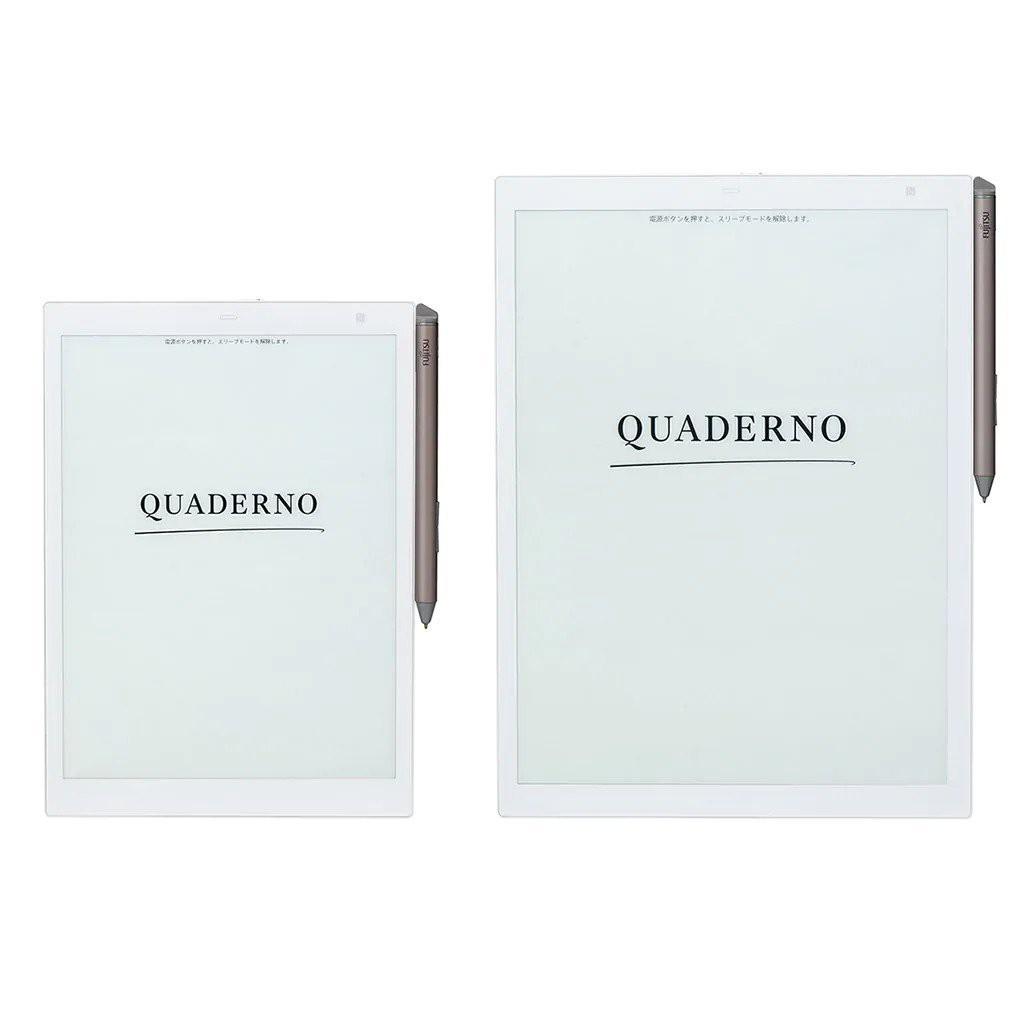 【預購】FUJITSU QUADERNO A4/A5純種日系電子書 同Sony DPT-RP1/CP1看論文最方便