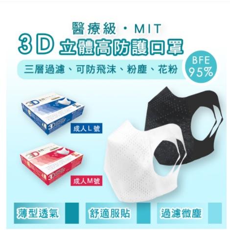全程興業公司中文版醫療級超服貼3D立體口罩Easy-O-Fit保證100%台灣口罩國家隊製造