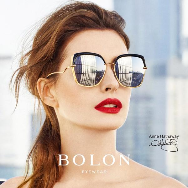 【BOLON 暴龍】多色款蝶形大矩方框時尚流行太陽眼鏡 明星代言 BL6052