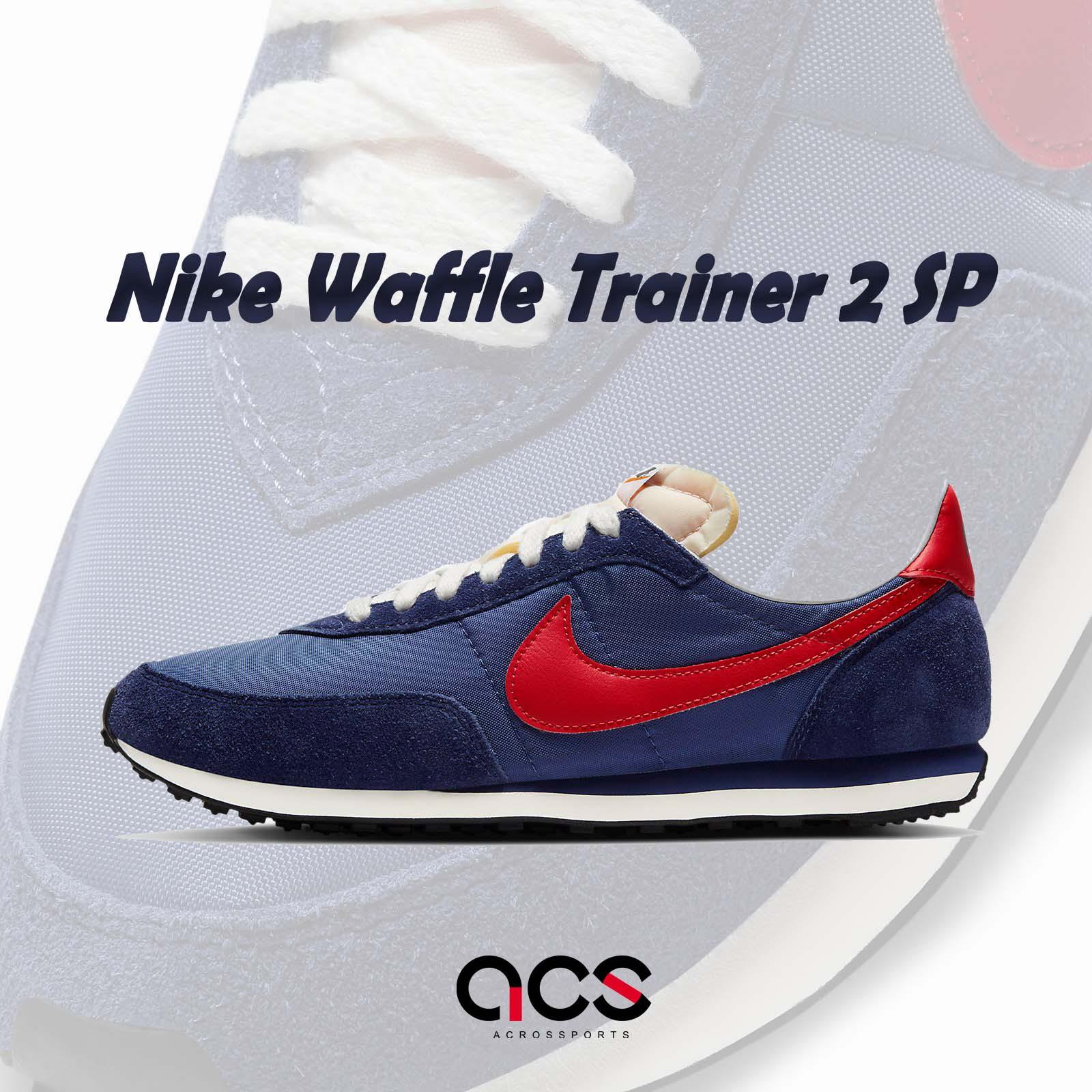 Nike 休閒鞋 Waffle Trainer 2 SP 藍 橘 男女鞋 復古慢跑鞋 【ACS】 DB3004-400