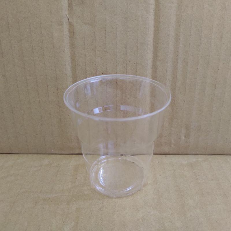 透明壓克力杯50入 200cc 免洗餐具 免洗杯 塑膠杯 飲料杯