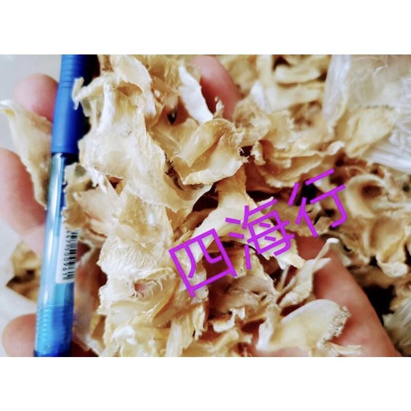 梅花魚翅(100克1份)~乾魚皮 魚唇 乾鮑鮑 魚翅 車輪牌鮑魚 日本干貝