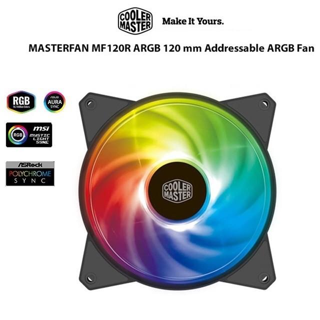 [嚴選電競] Cooler Master 酷碼 MF120R MF140R ARGB 酷碼 風扇 機殼 散熱 DIY