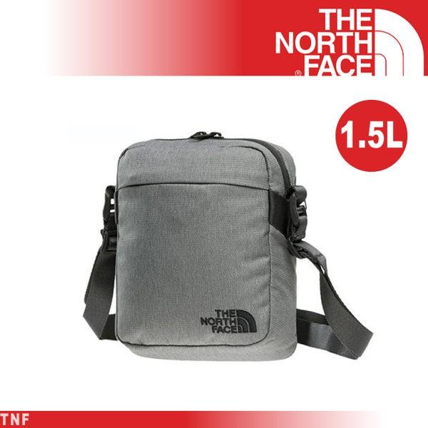【The North Face 美國 1.5L 多功能側背包《灰》】3BXB/單肩包/可拆卸/輕旅行/悠遊山水
