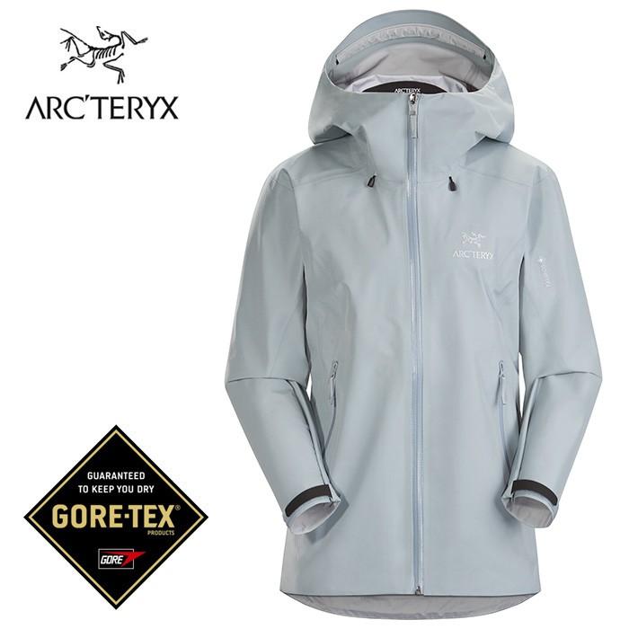 【ARCTERYX 始祖鳥 加拿大】Beta LT 防水外套 登山夾克 風雨衣 女款 銀翼灰 (L07599600)
