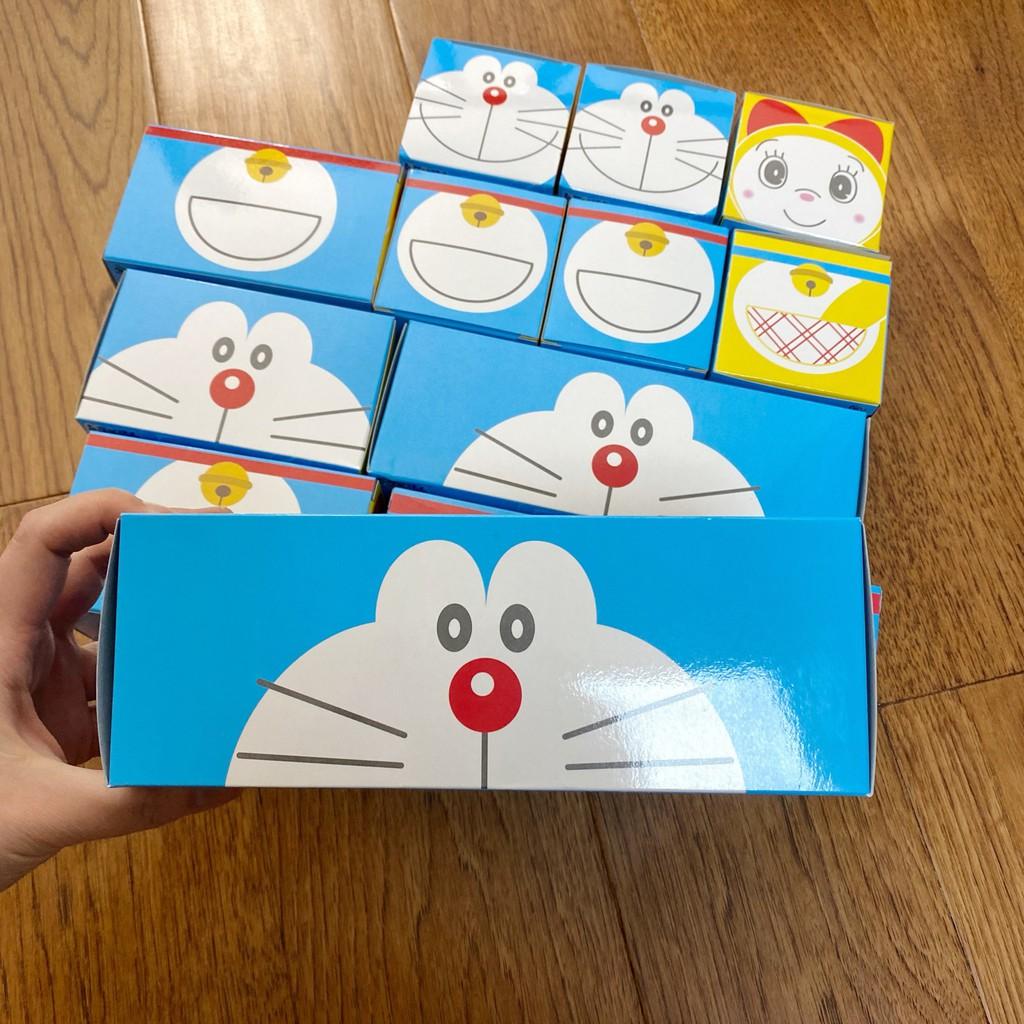 ~熱銷~新款日本採購哆啦A夢嬰兒童洗臉巾純棉手帕手絹口水巾毛巾禮盒裝現貨