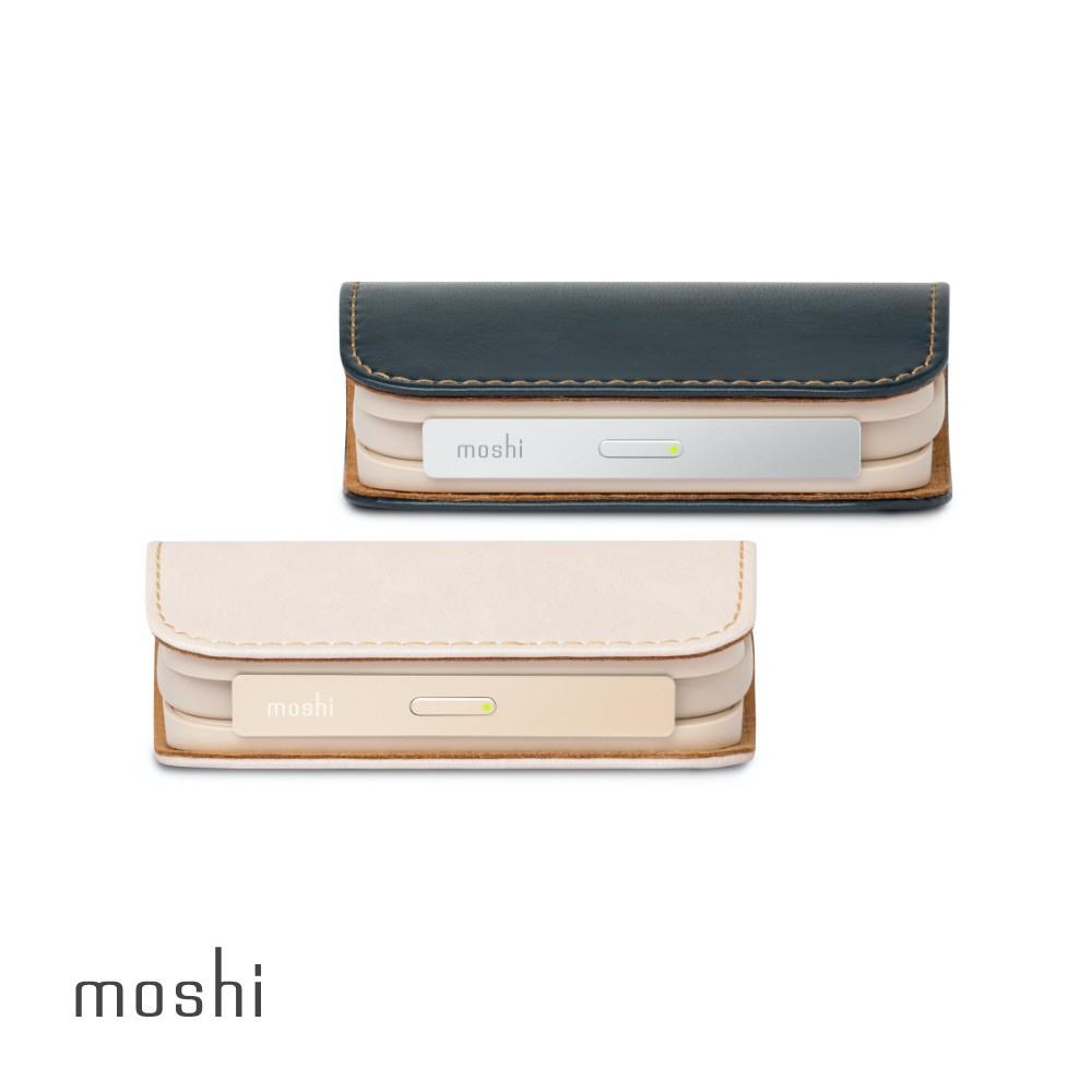 Moshi IonGo 5K 帶線行動電源 (USB 及 Lightning 雙充電線,iPhone 充電專用)