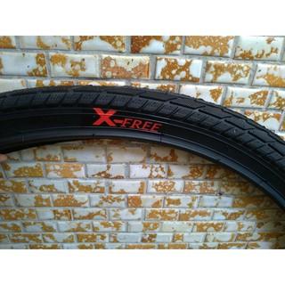 全新自行車外胎X-FREE 26X1.75外胎 輪胎26*1.75  通勤車外胎 城市閃電胎 高雄市