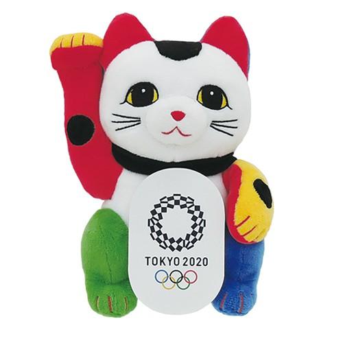 東京奧運限定 招財貓絨毛娃娃 東奧 紀念品週邊官方商品 現貨商品 售完為止
