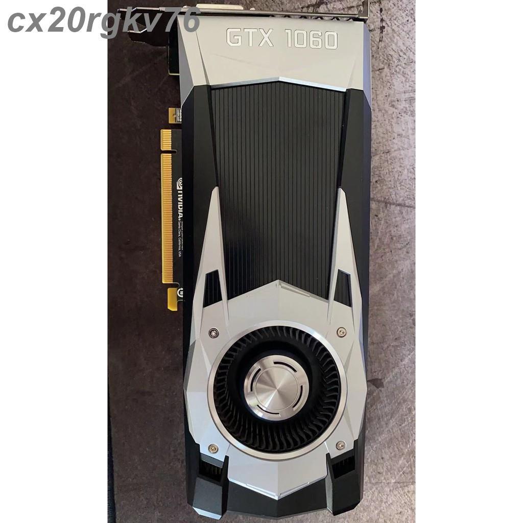 【滿299免運】NVIDIA GeForce GTX 1060 6GB 公版顯示卡
