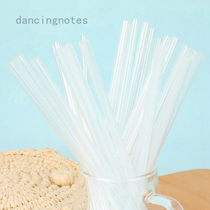 跳舞筆記透明塑料吸管加厚硬吸管